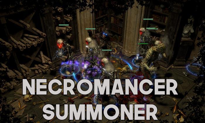 Skeleton Necromancer Summoner