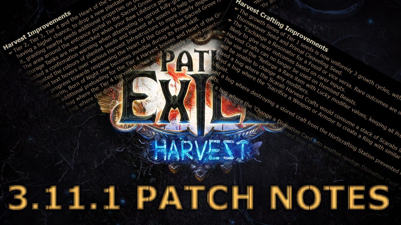 Path-of-Exile-Patch-3.11.1